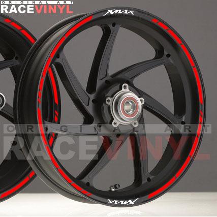 Principal SPEED XMAX X MAX 125 250 adhesivo pegatina vinilo llanta rueda moto sticker vinyl rim stripe