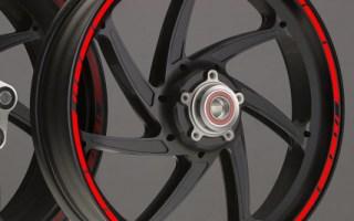 Suzuki Burgman New Rim Stripes Kit Available