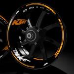 Pegatinas para llantas Kit PRO KTM Duke