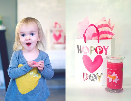 Valentine's Day crafts with lifestyle blogger Rachael Burgess