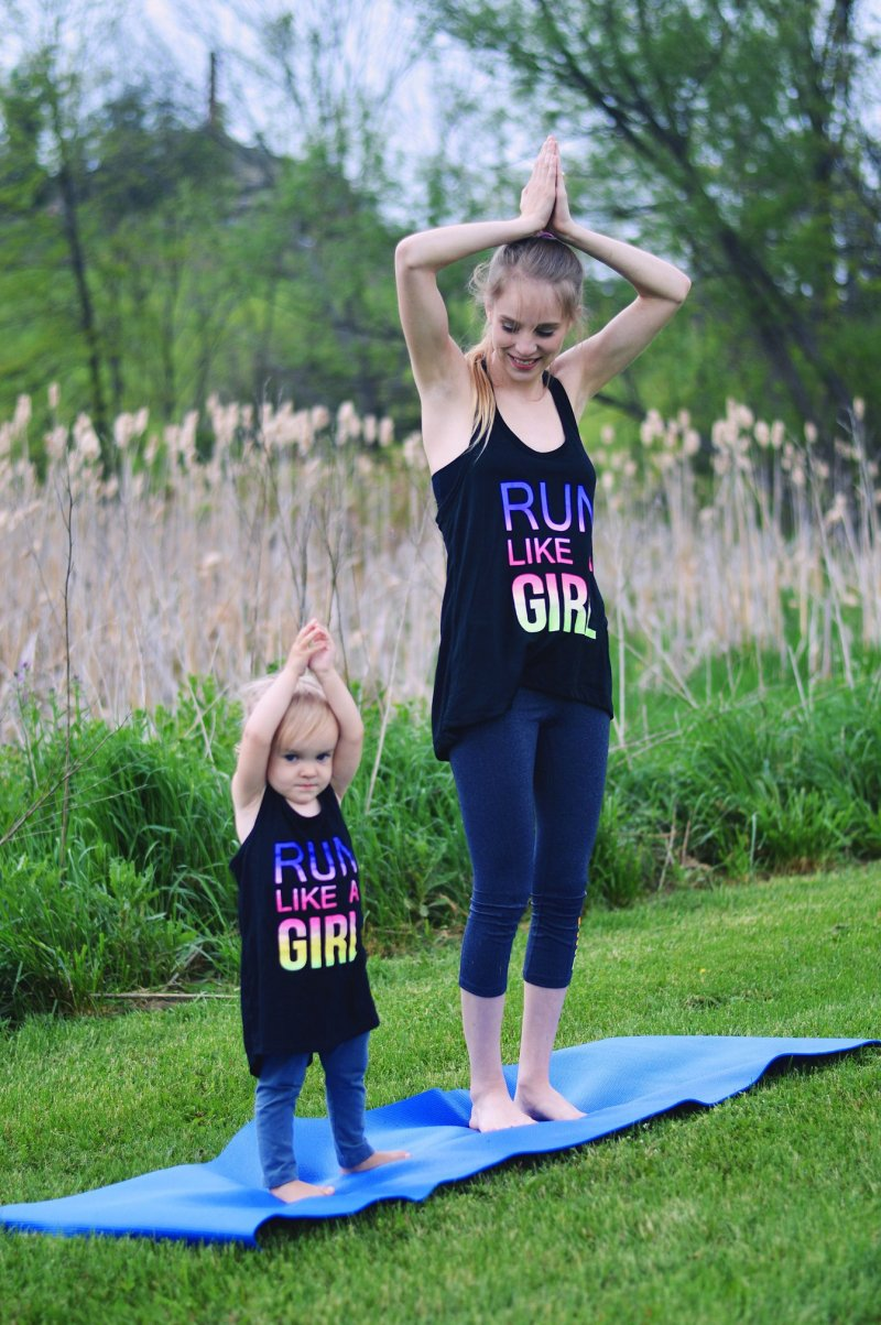 Mommy and Me Yoga Tips | Rachael Burgess