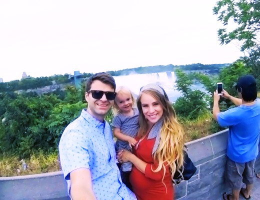 Family trip to Niagara Falls by Rachael Burgess