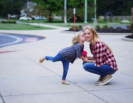 Plaid Fall Style and Toddler Tantrums   Rachael Burgess