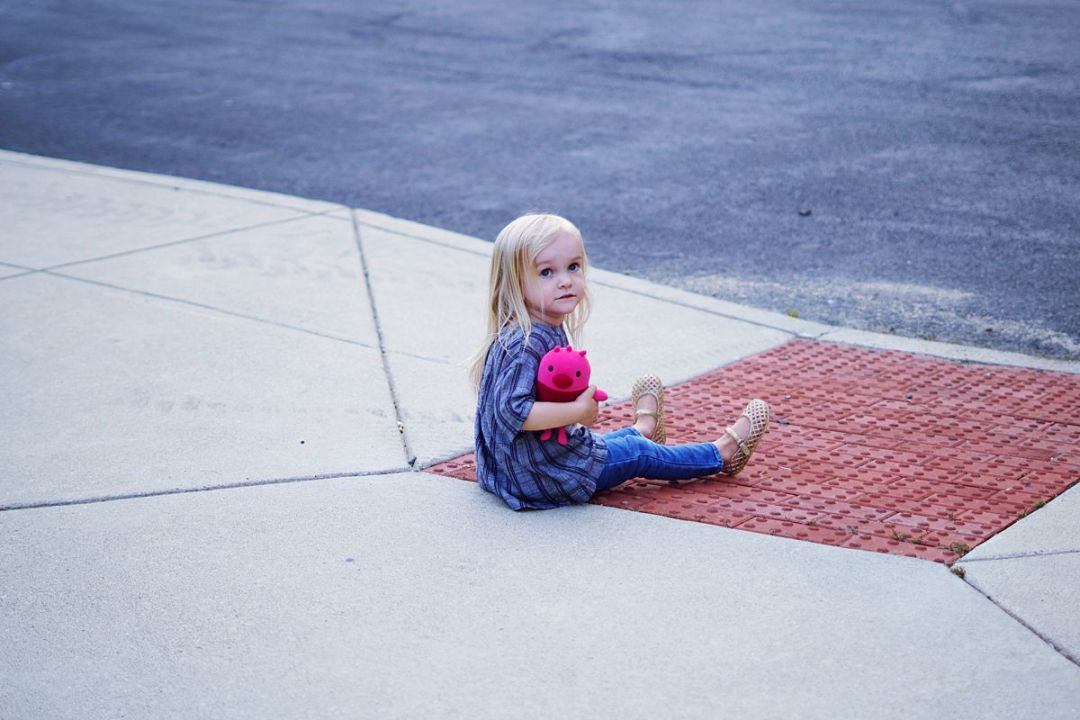 Plaid Fall Style and Toddler Tantrums | Rachael Burgess