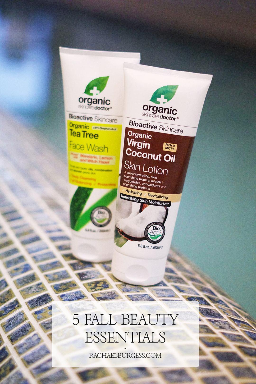 5 Fall Beauty Essentials | Rachael Burgess