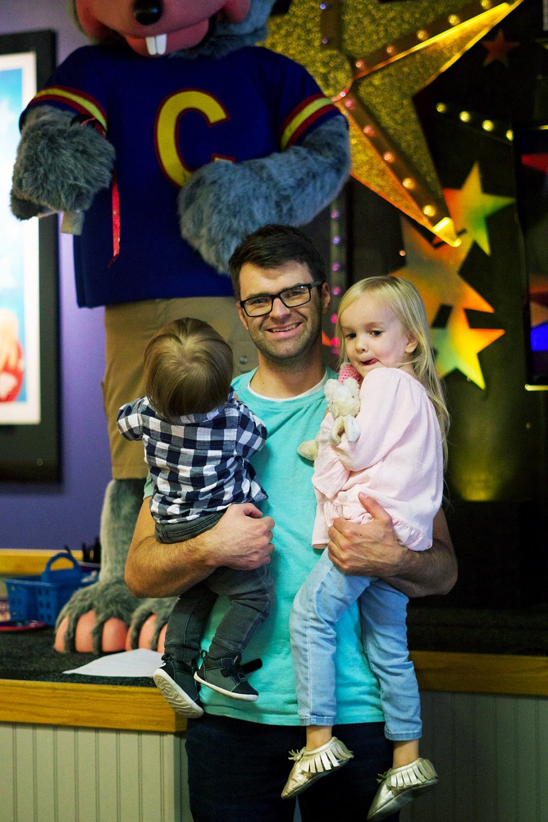 First Birthday at Chuck E. Cheese's | Rachael Burgess
