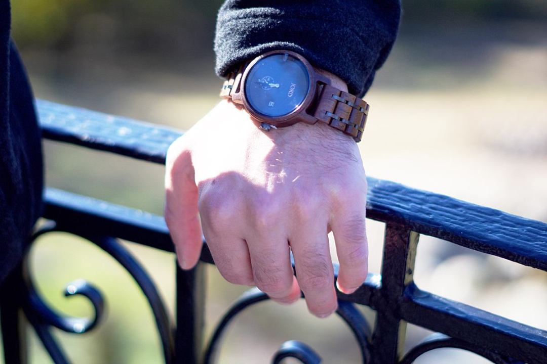 Gifting Ideas for Husband Wooden Watch | Rachael Burgess