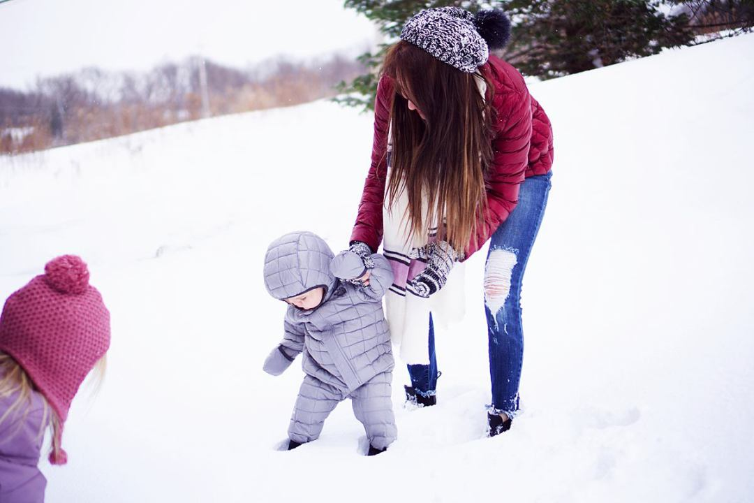 How to Dress Kids for Playing in the Snow | Rachael Burgess