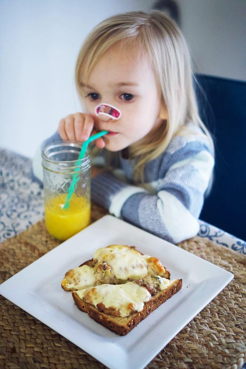 citrus pepper tuna melt recipe  safe for kids  pregnant