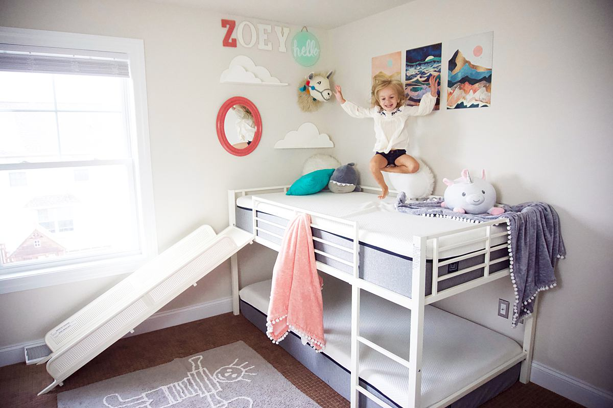 Cute Loft Slide Bed Bunk Bed Mom Blogger
