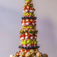 Rachael Ray Kitchen Furniture Appetizer Tree: Antipasto Tree With Garlic Knots | ...
