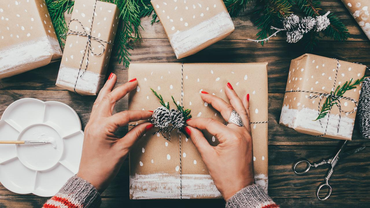 How To Wrap A Present From A Standard Gift Box To An