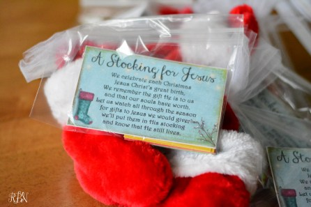 Stocking for Jesus