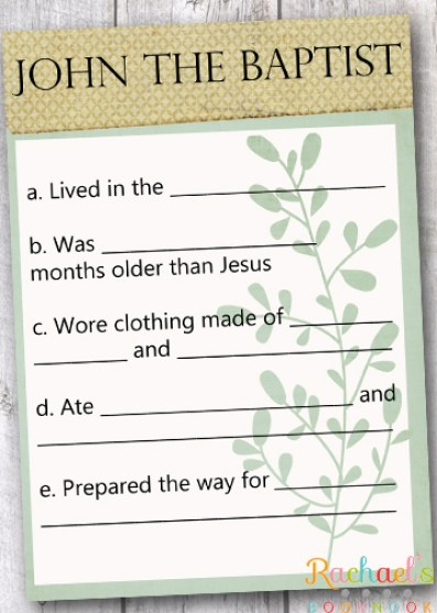 Primary 7 Lesson 3 John The Baptist Prepared The Way For