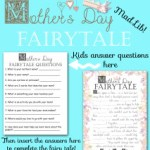 Mother's Day Fairy Tale Mad Libs Game for Kids!