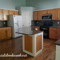 Can I Paint My Kitchen Cabinets Lights Our Coastal Home- Adding Crown Molding To ...