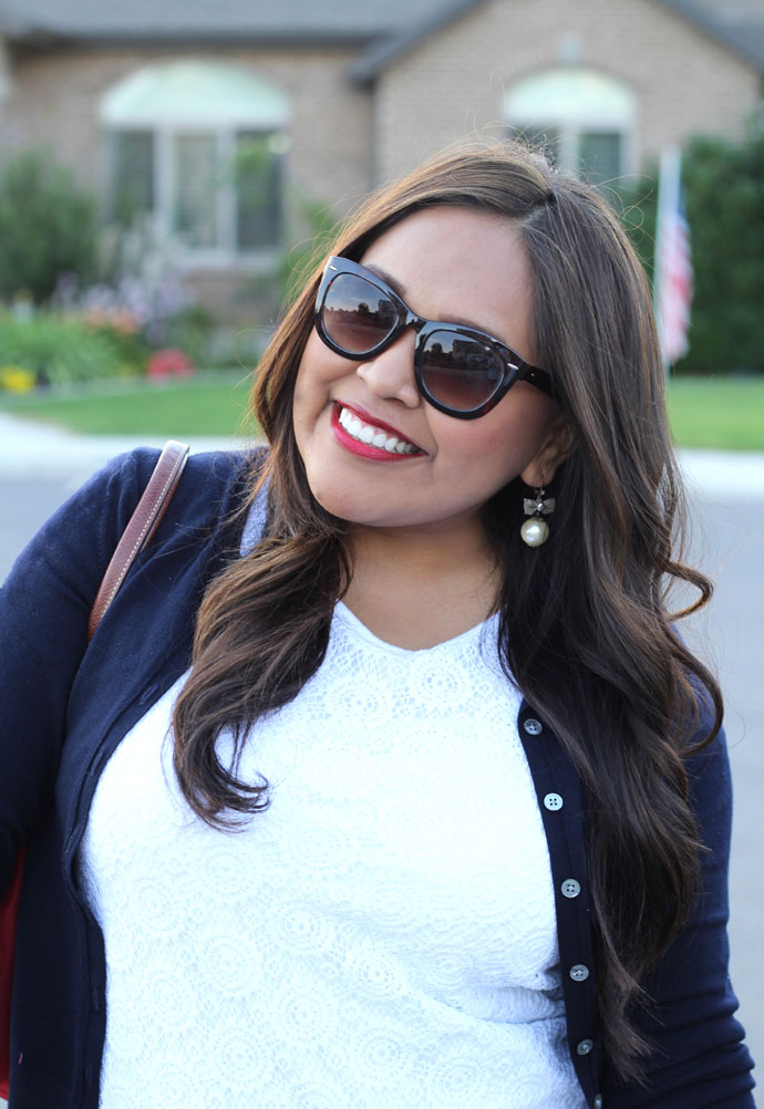 red white blue, 4th of july, outfits, outfit ideas, longchamp, banana republic