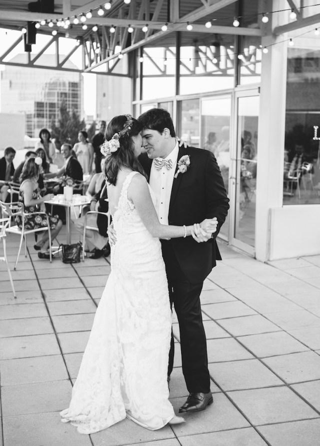 wedding  Birmingham, AL Rooftop Wedding