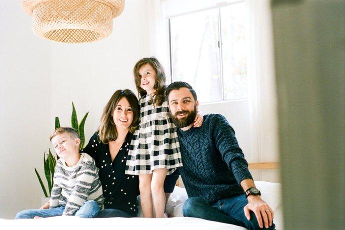 Family  Stylish Homewood Family Session
