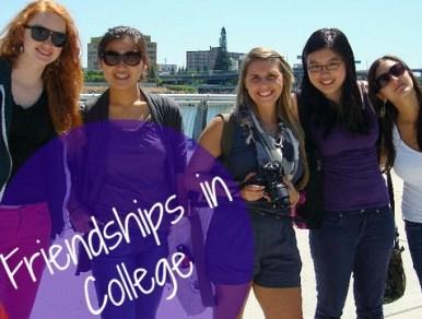 Friendships in College