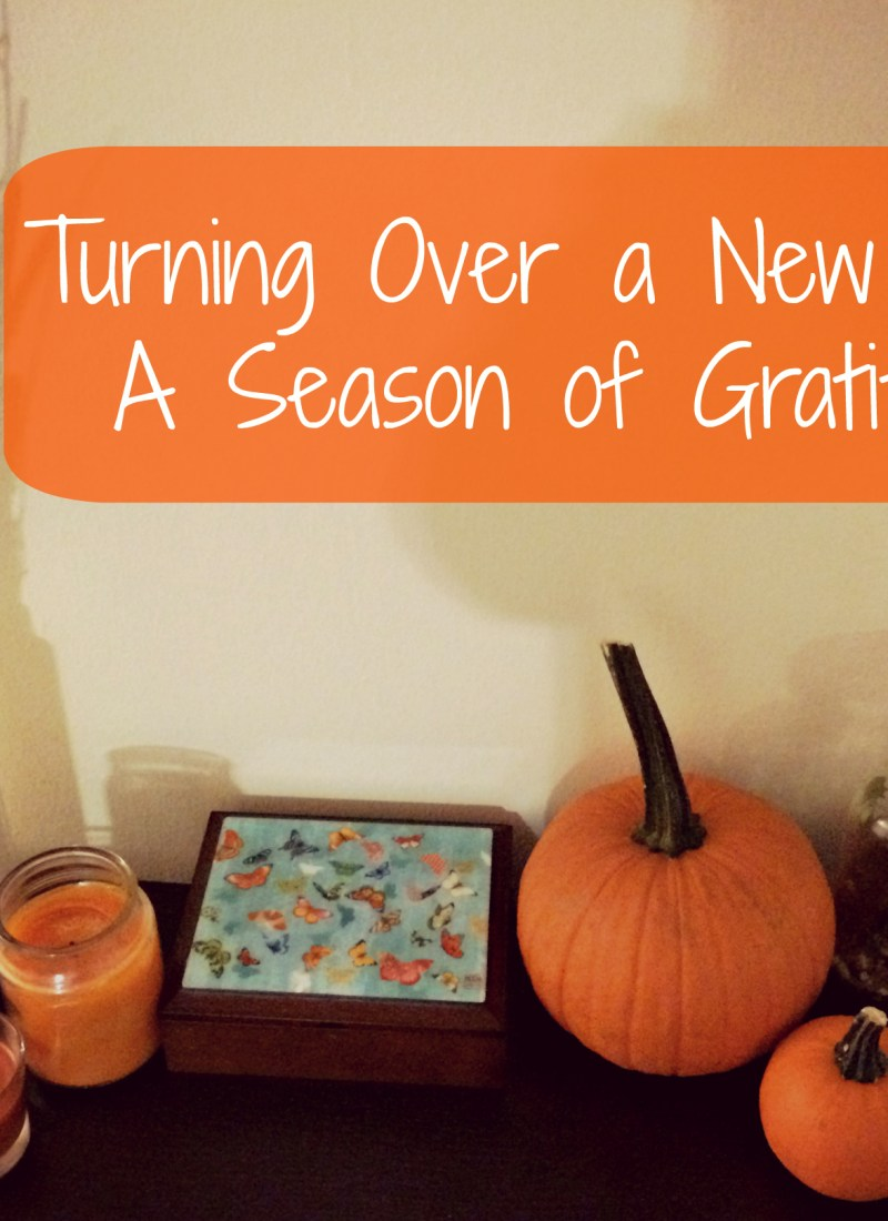 Turning Over a New Leaf: A Season of Gratitude