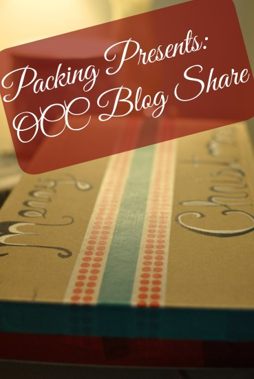 Packing Presents OCC Blog Share
