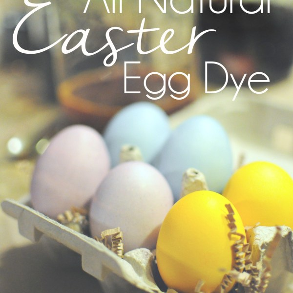 How to color your easter eggs with all natural dye