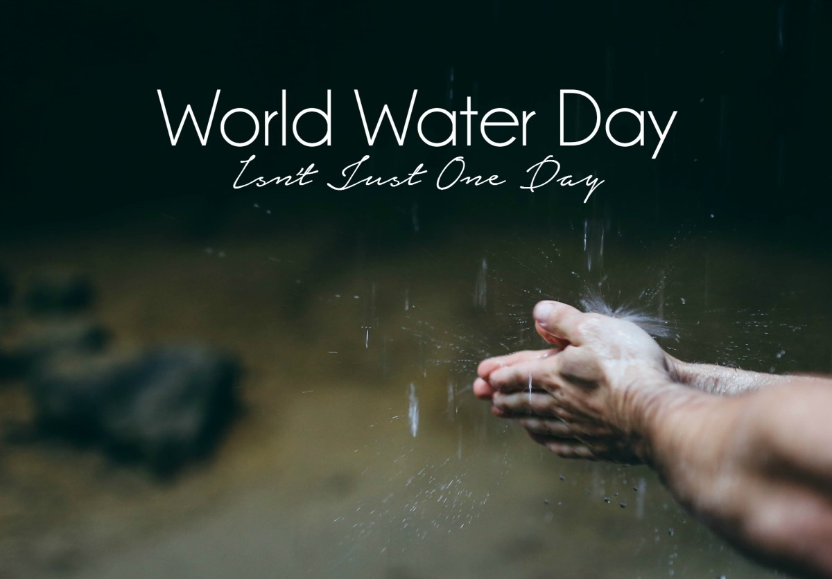 Choosing Human discusses World Water Day, the availability of water, issues surrounding water and how we can better conserve it.