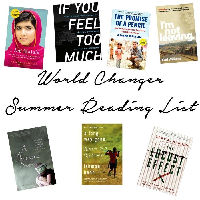 Reading List for the World Changer