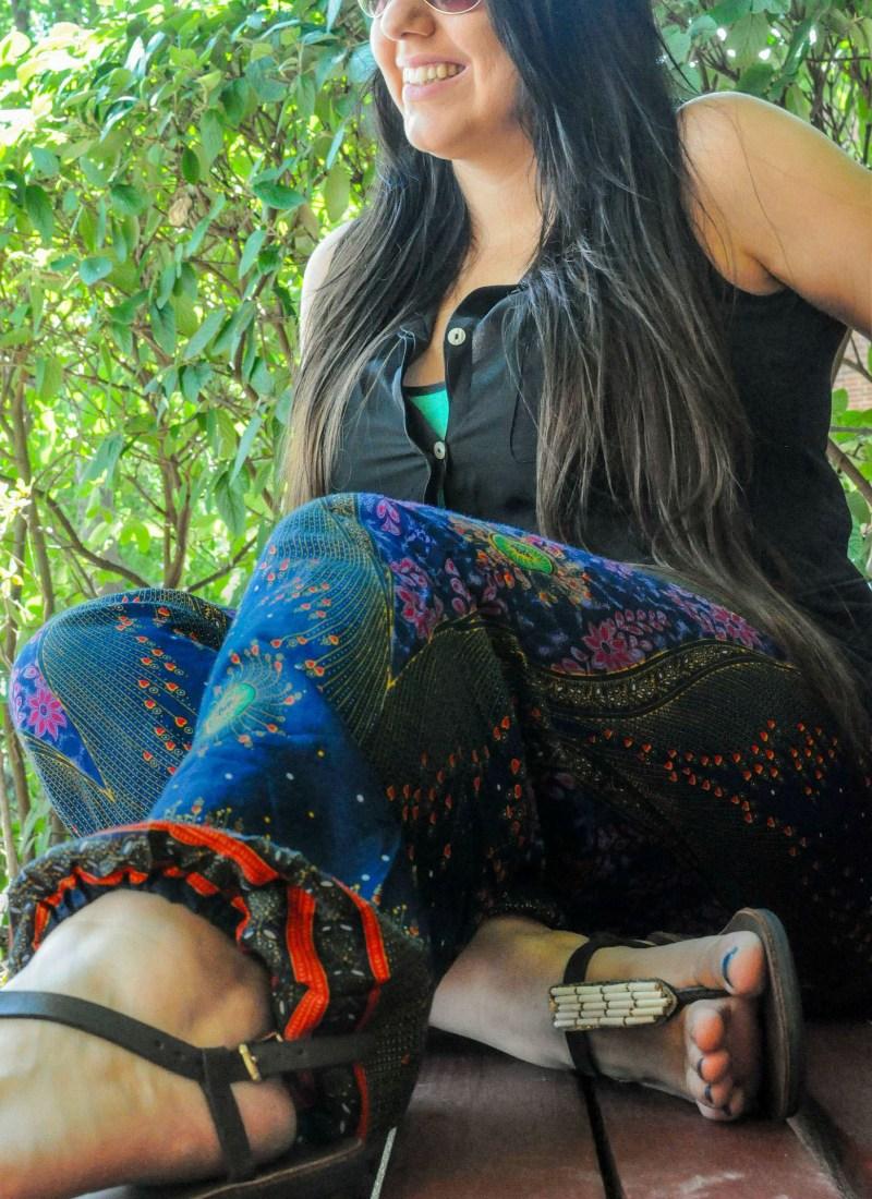 Bohemian Island Harem Pants Review
