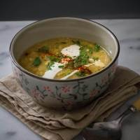 Syrian Red Lentil Soup