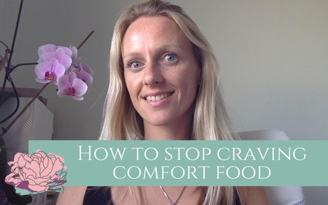 how to stop craving comfort food
