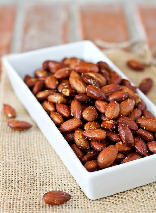 Rosemary Roasted Almonds Recipe Rachel Cooks