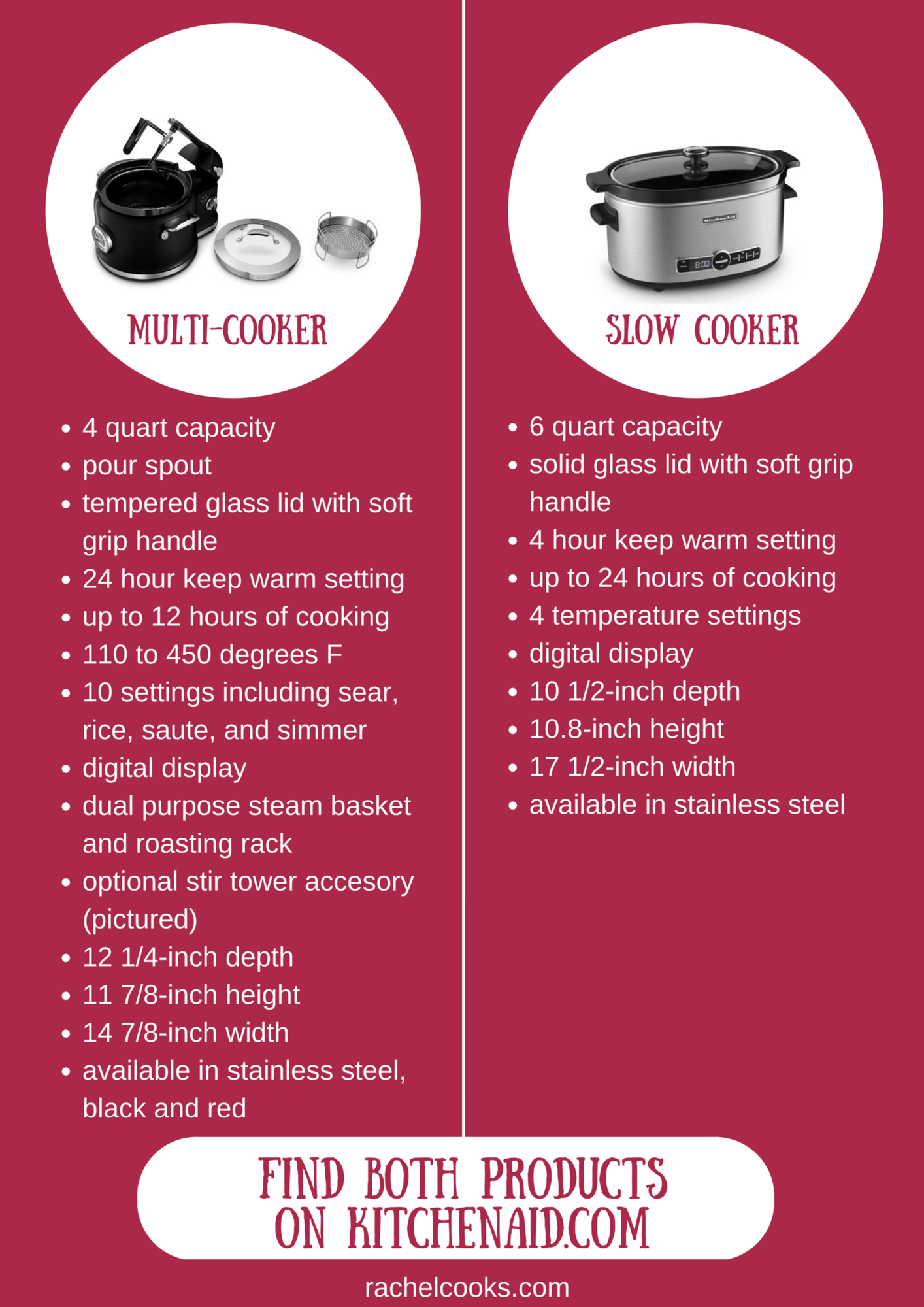 kitchen aid slow cooker hand soap vs. multi-cooker - what's right for you ...