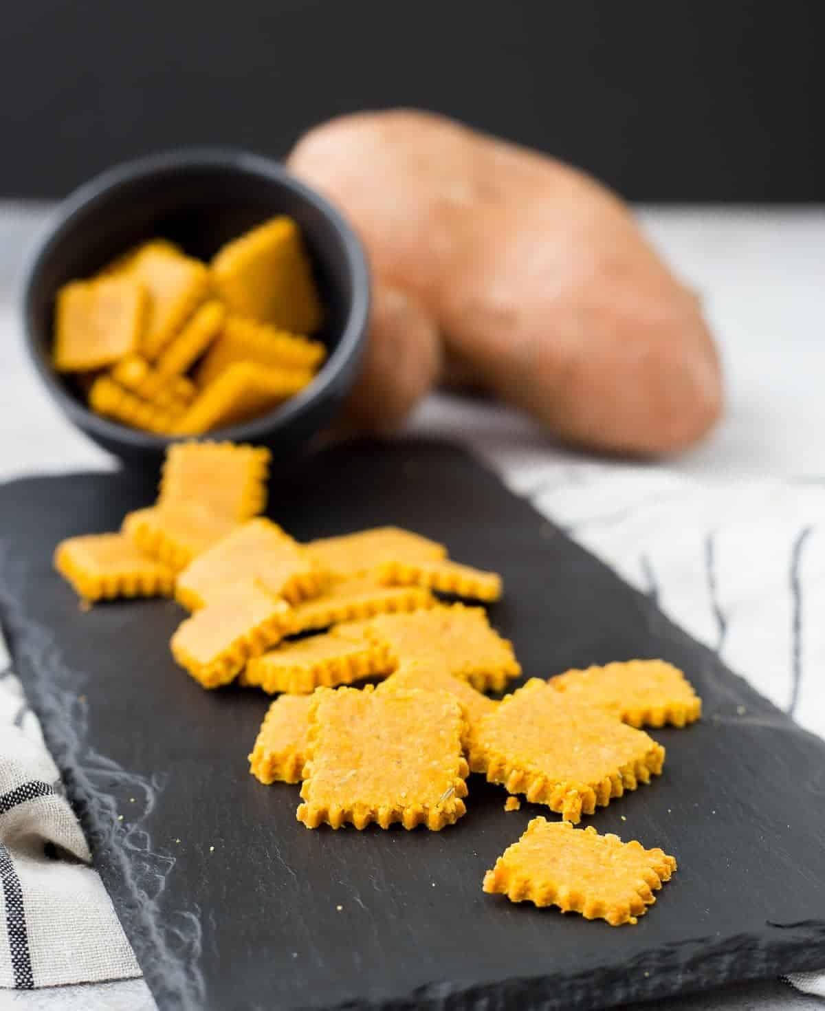 GlutenFree Cracker Recipe  Sweet Potato and Rosemary  Rachel Cooks