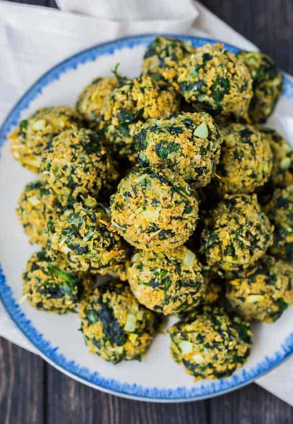 Spinach Balls Appetizer Recipe  WHOLE WHEAT  Rachel Cooks
