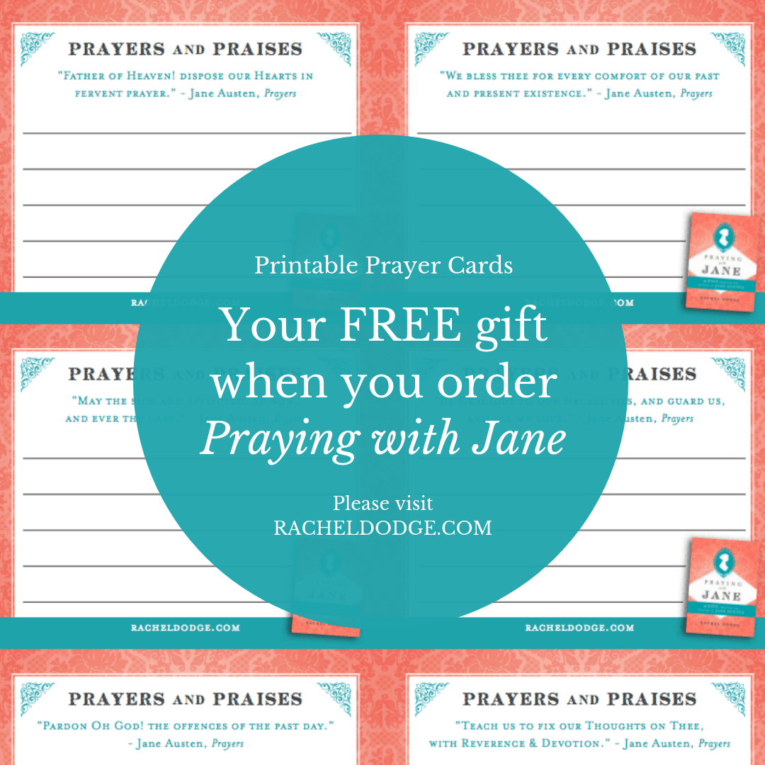image regarding Free Printable Prayer Cards called No cost Prayer Playing cards with Your Get of Praying with Jane