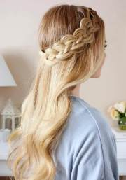 fashionable prom hairstyles
