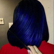 blue black hair ideas