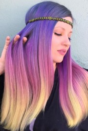 mermaid hair trend & color