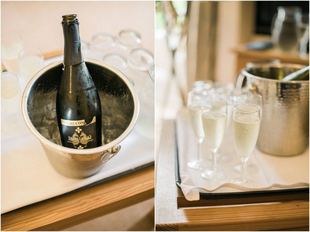 prosecco in ice bucket