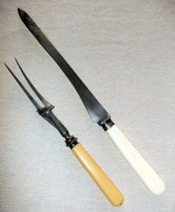 Carving knife for pheasant