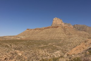 Mesa in West Texas