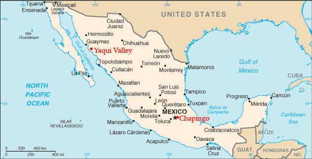 Borlaug_Mexico_locations