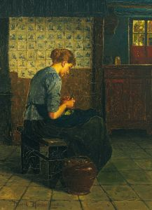 The Scullery Maid. Henrik Nordenberg, late 19th century. Wikimedia.
