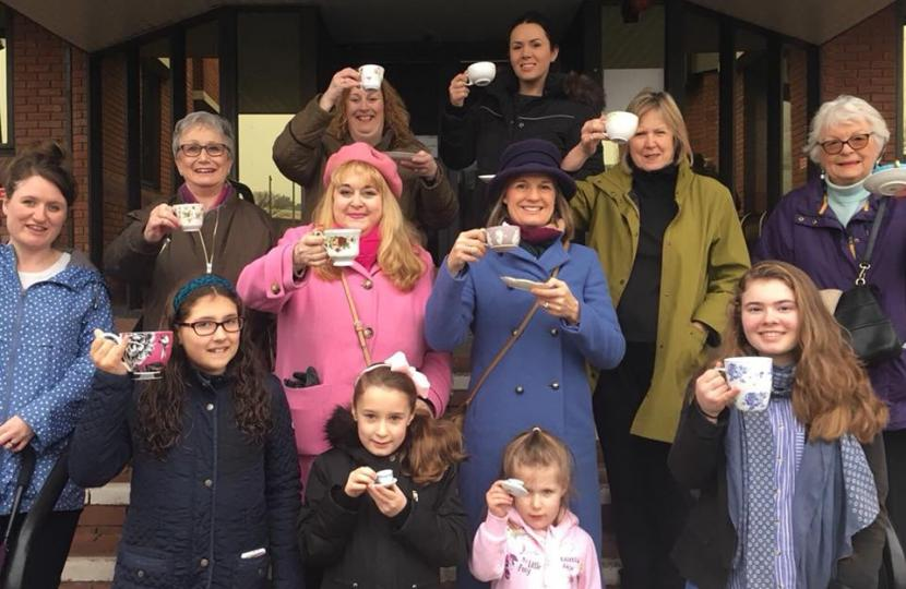Rachel calls for women in Redditch to stand for public office to commemorate Vote 100