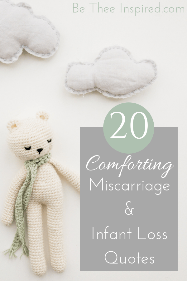 20 Comforting Quotes on Miscarriage & Infant Loss (Plus FREE ...
