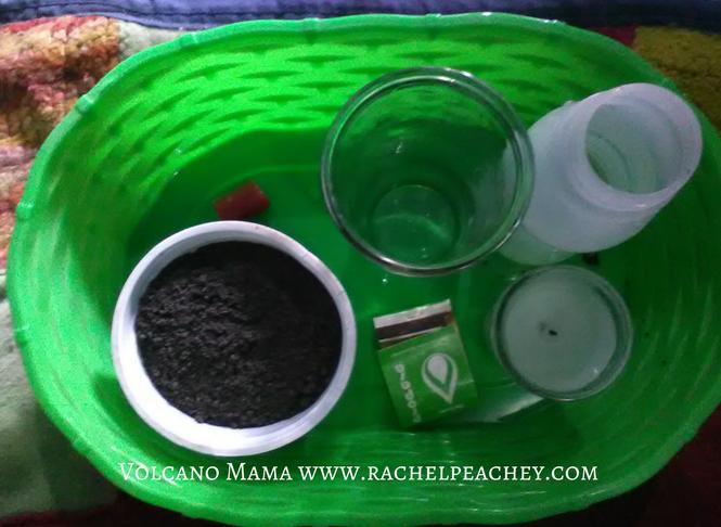 Volcano Wax Experiment Supplies