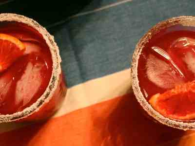 Don't Judge Me Mondays: Blood Orange Margarita