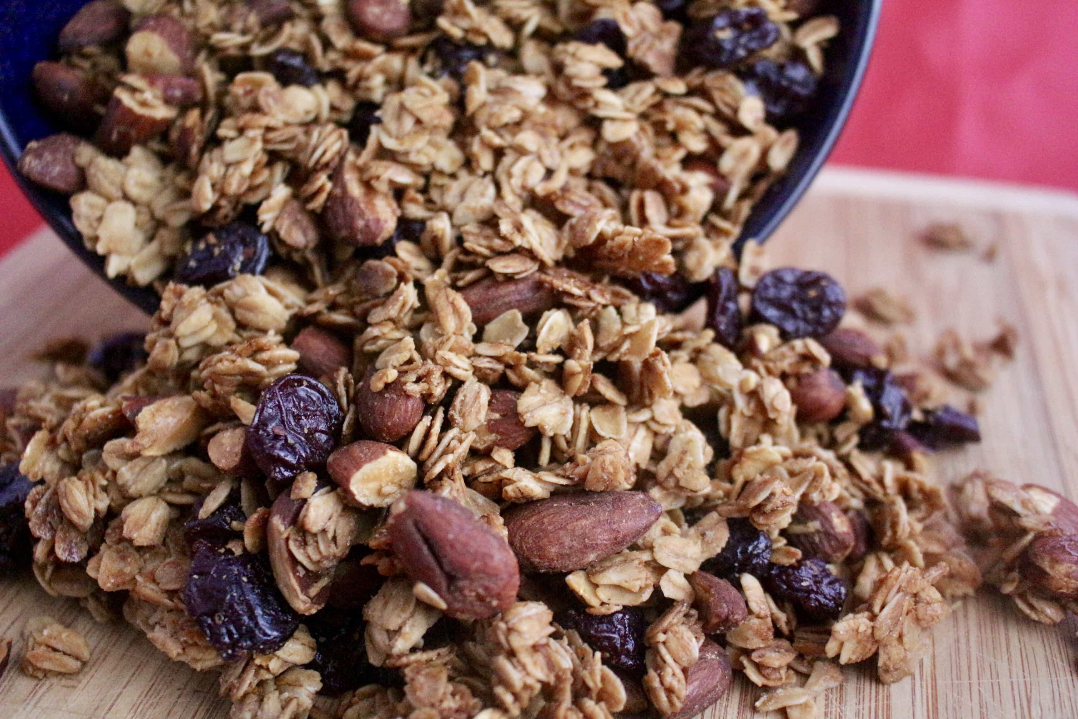 Cherry Almond Granola